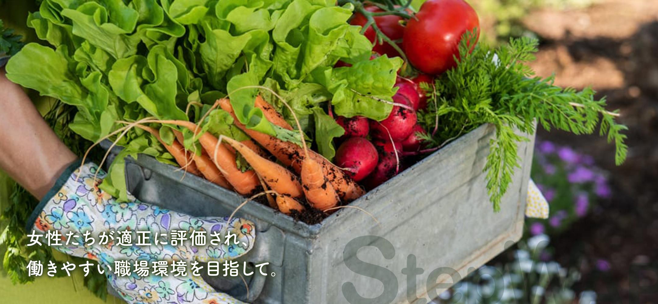 STEP WAP - 農業の働き方改革-男女共同参画による経営発展-